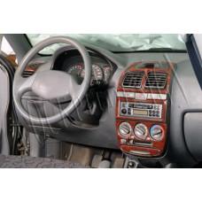 Hyundai Accent Maun Kaplama 2001-2005 14 Parça