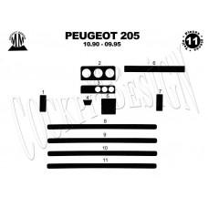 Peugeot 205 Maun Kaplama 1990-1995 11 Parça
