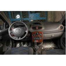 Renault Clio 3 Maun Kaplama 2005-2012 arası 9 Parça